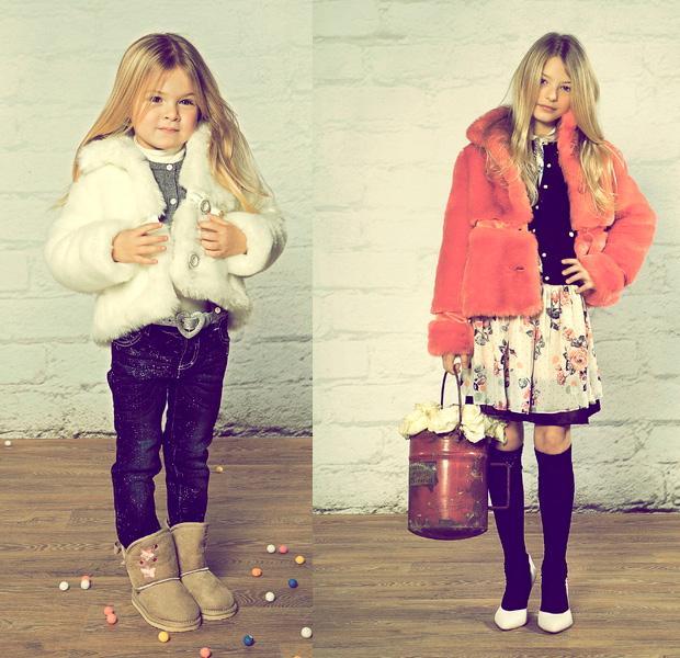 Стильная Зимняя Одежда Для Девочек
